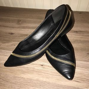 Steve Madden Leather Flats 🙌